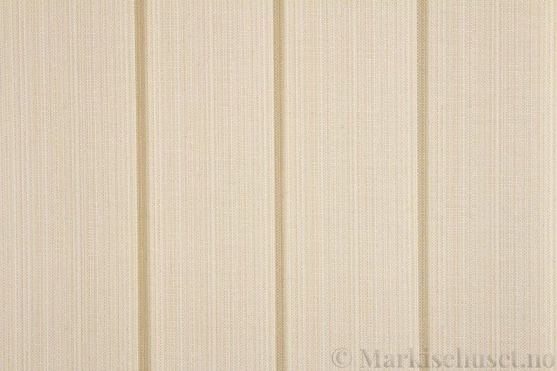 Lamellgardin tekstil serien Corneille FR 250245-0500 farge Bomullshvit. Bildet er tatt med lys forfra.