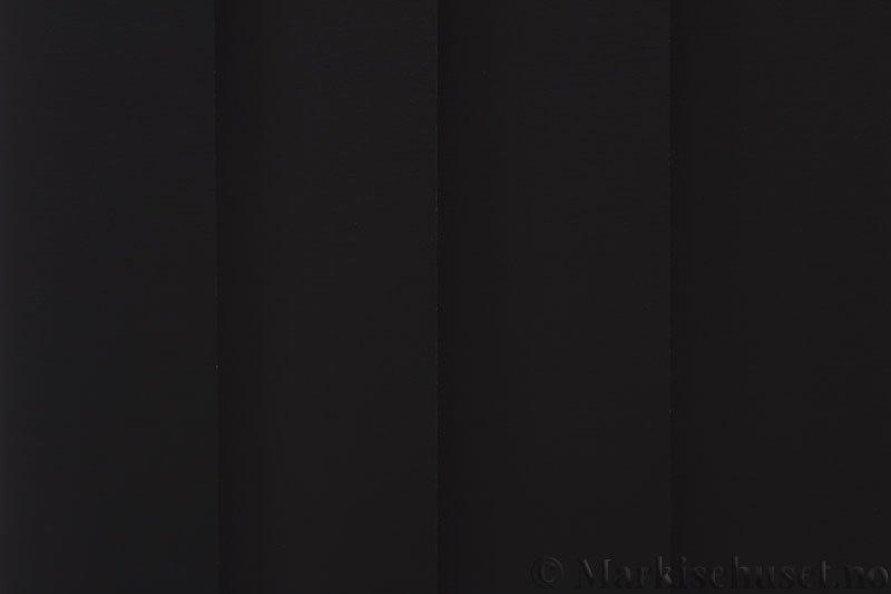 Lamellgardin tekstil serien Lumina 251625-1888 farge Mørk Grå. Bildet er tatt med lys bakfra.