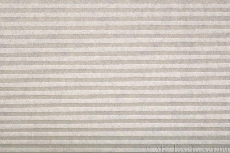 Plisségardin tekstil serien Trends 290260-0450 Lys lin farge. Bildet er tatt med lys forfra.
