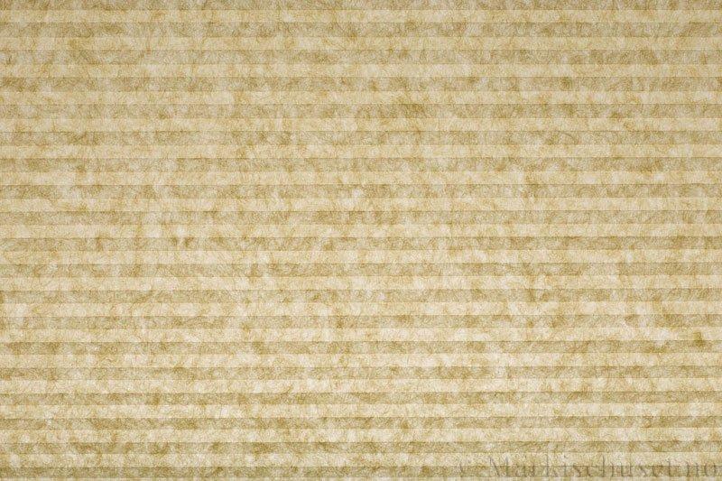 Plisségardin tekstil serien Trends 290260-4501 Elfenben farge. Bildet er tatt med lys bakfra.