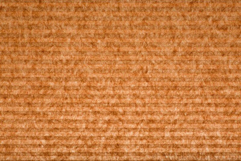 Plisségardin tekstil serien Trends 290260-5375 Orange farge. Bildet er tatt med lys bakfra.