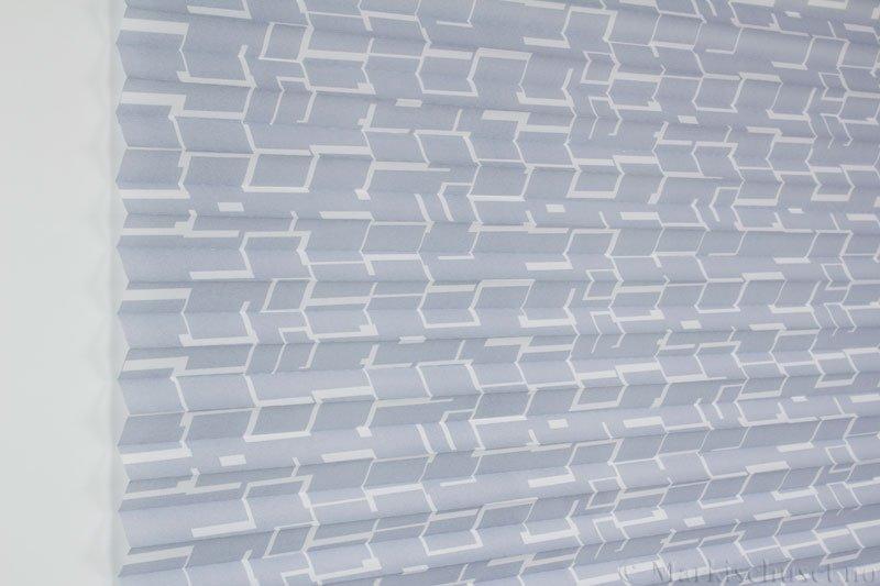 Plisségardin tekstil Campus 290594-1000 Elefantgrå farge. Bildet er tatt med lys forfra.