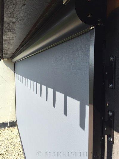 Screengardin modell Refleksol 103 farge Grå