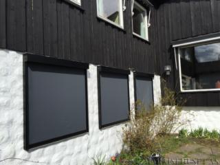 Screen modell Zip farge Sort Polyscreen 550 Ash