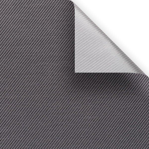Screen tekstil Serge 600 Lunar Blockout - Grey-Charcoal 01010 (GV-0130)