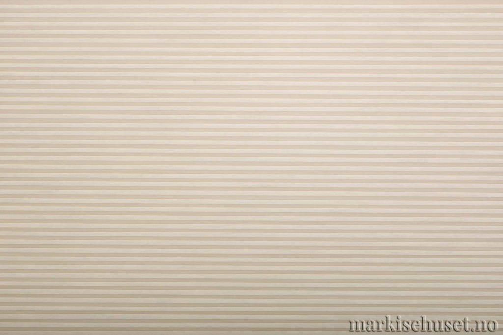 """Duette tekstil i serien Duotone 25mm. Farge: """"Ivory"""". Bildet er tatt med lys forfra."""