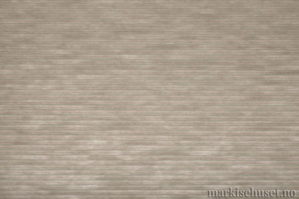 """Duette tekstil i serien Duotone 25mm. Farge: """"ArticGrey"""". Bildet er tatt med lys bakfra."""