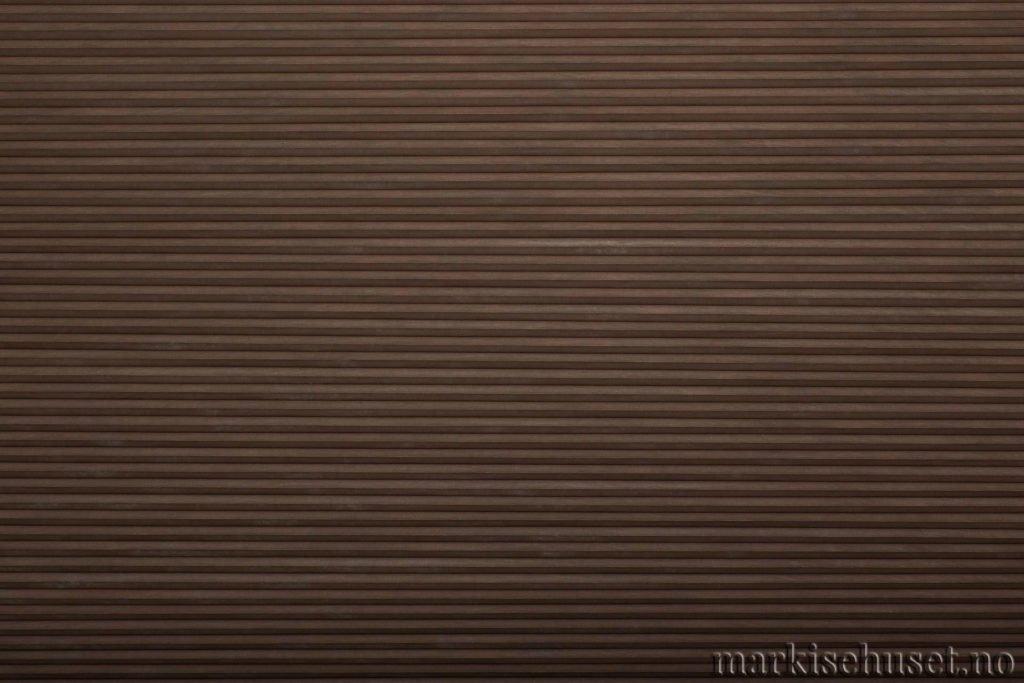 """Duette tekstil i serien Duotone 25mm. Farge: """"NightHawk"""". Bildet er tatt med lys forfra."""