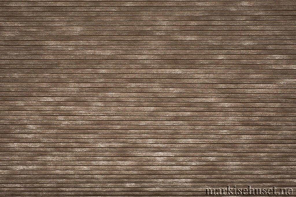 """Duette tekstil i serien Duotone 25mm. Farge: """"NightHawk"""". Bildet er tatt med lys bakfra."""