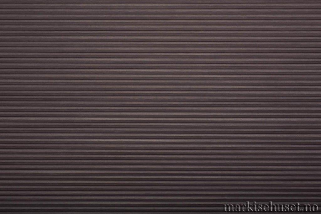 """Duette tekstil i serien Duotone 25mm. Farge: """"Shark"""". Bildet er tatt med lys forfra."""