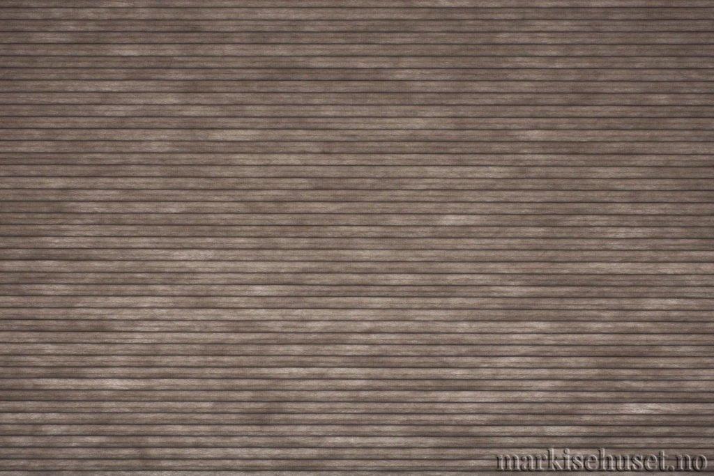 """Duette tekstil i serien Duotone 25mm. Farge: """"Shark"""". Bildet er tatt med lys bakfra."""