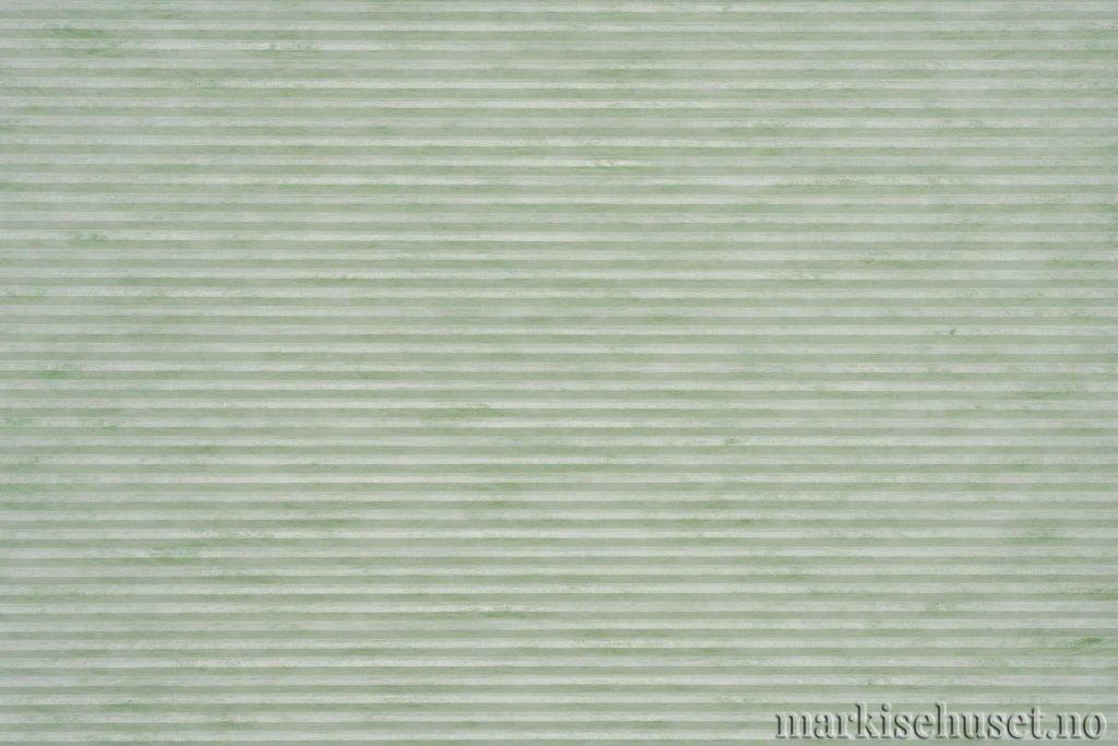 """Duette tekstil i serien Duotone 25mm. Farge: """"MardiGrass"""". Bildet er tatt med lys forfra."""