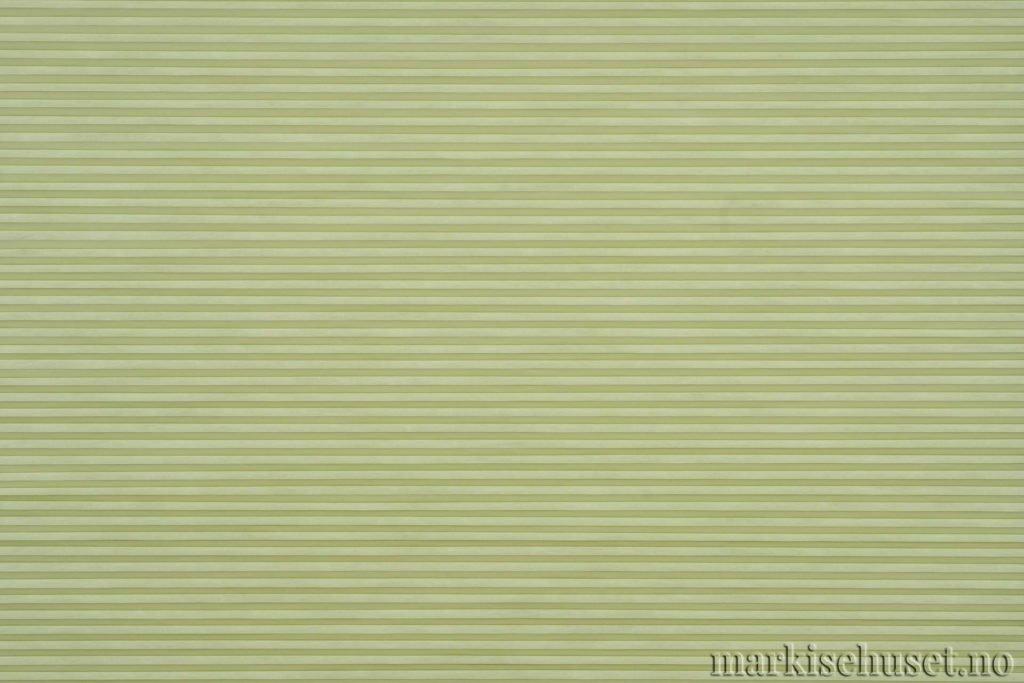 """Duette tekstil i serien Duotone 25mm. Farge: """"GreenOlive"""". Bildet er tatt med lys forfra."""