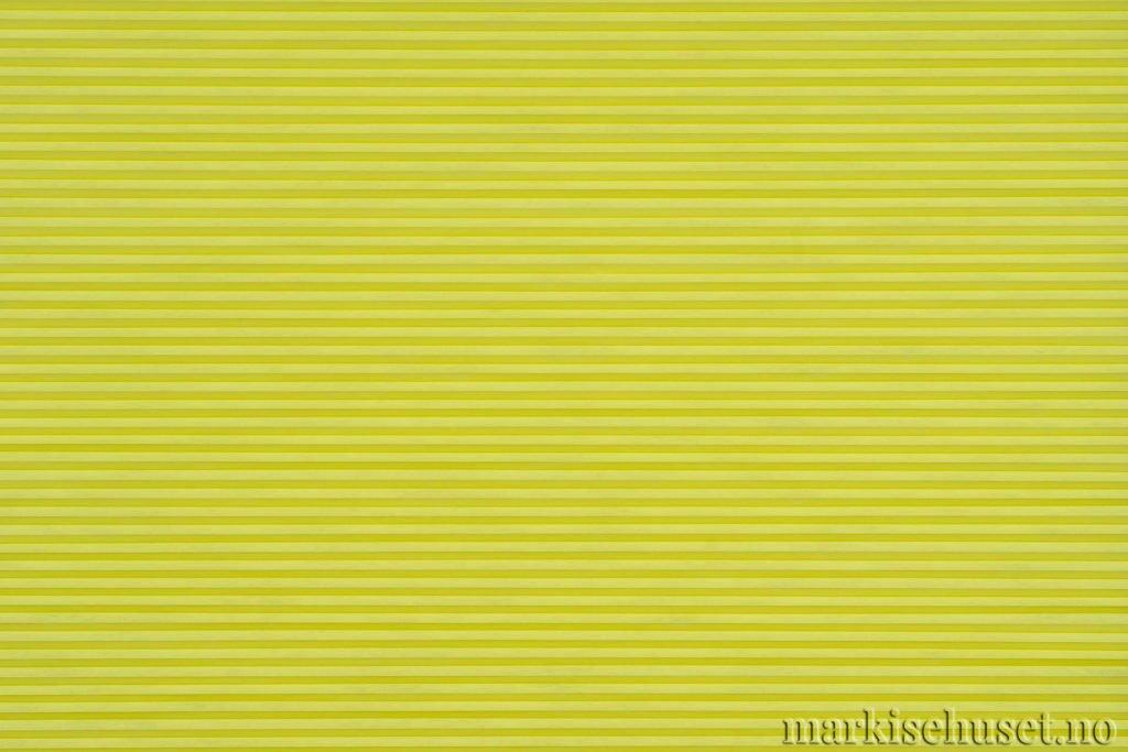"""Duette tekstil i serien Duotone 25mm. Farge: """"GoslingGreen"""". Bildet er tatt med lys forfra."""