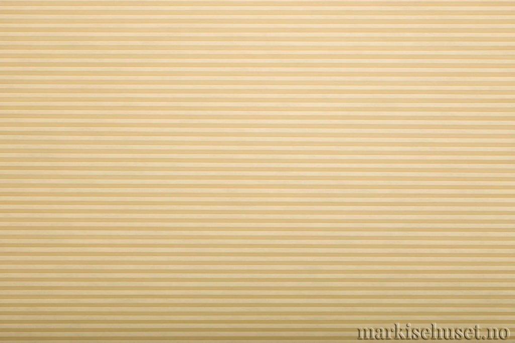 """Duette tekstil i serien Duotone 25mm. Farge: """"Canary"""". Bildet er tatt med lys forfra."""