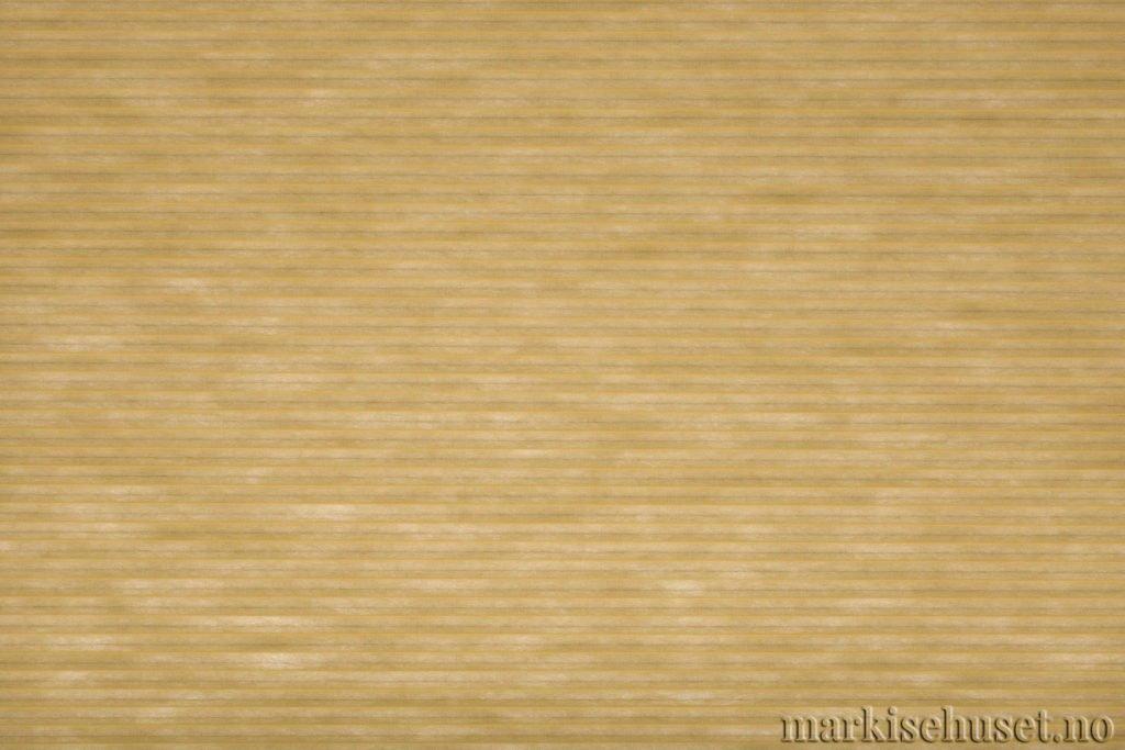 """Duette tekstil i serien Duotone 25mm. Farge: """"Canary"""". Bildet er tatt med lys bakfra."""