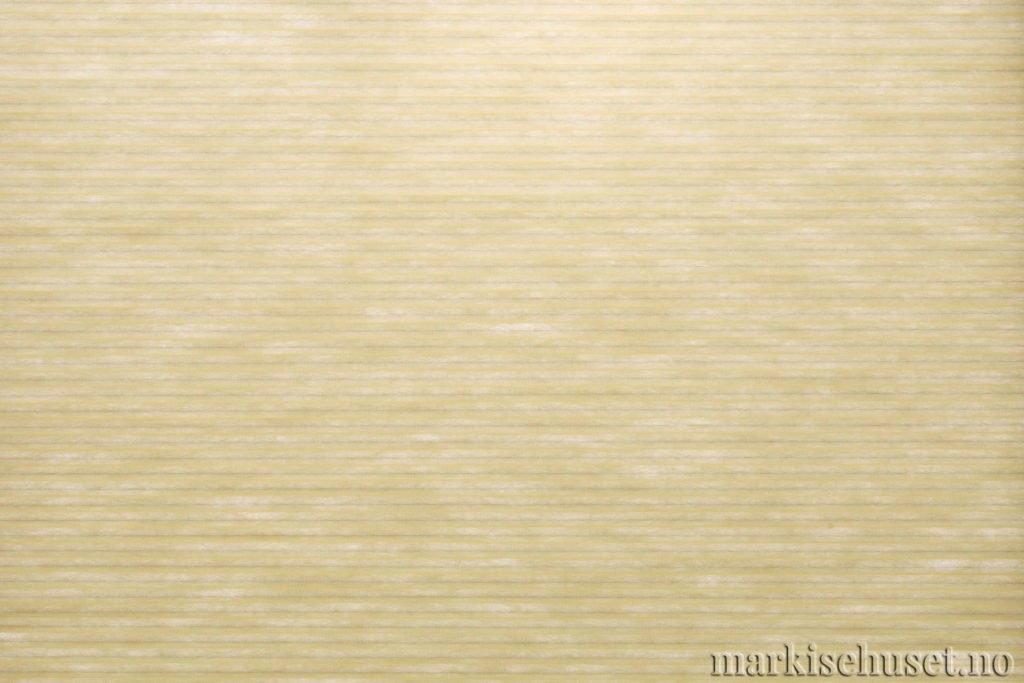 """Duette tekstil i serien Duotone 25mm. Farge: """"LeaGreen"""". Bildet er tatt med lys bakfra."""