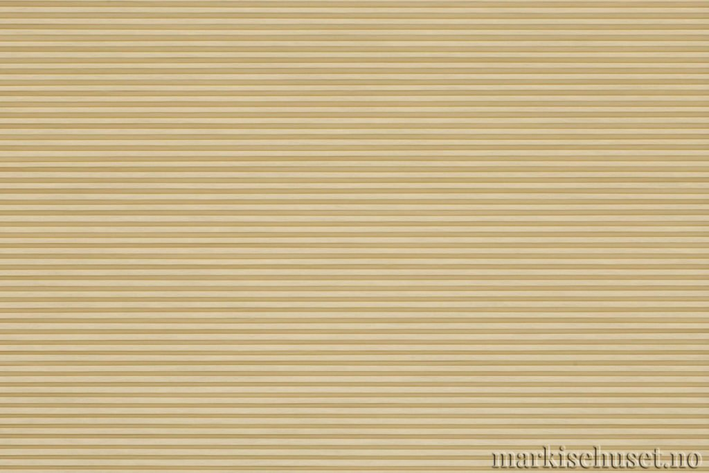 """Duette tekstil i serien Duotone 25mm. Farge: """"Agold"""". Bildet er tatt med lys forfra."""