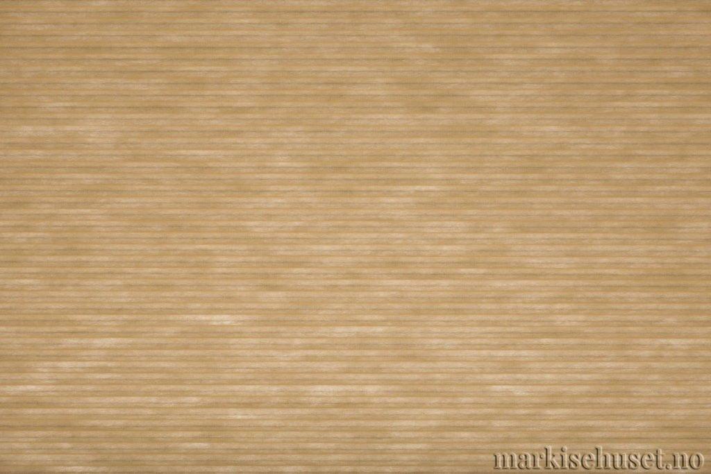 """Duette tekstil i serien Duotone 25mm. Farge: """"Bisque"""". Bildet er tatt med lys bakfra."""