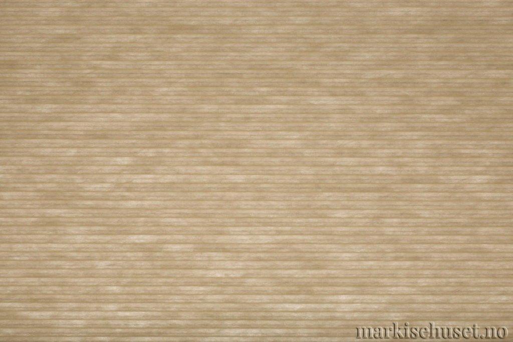 """Duette tekstil i serien Duotone 25mm. Farge: """"Sand"""". Bildet er tatt med lys bakfra."""