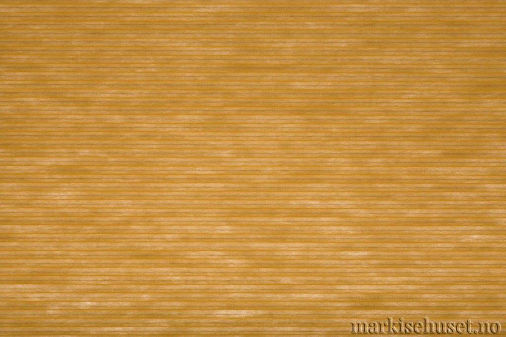 """Duette tekstil i serien Duotone 25mm. Farge: """"ProvincialGold"""". Bildet er tatt med lys bakfra."""