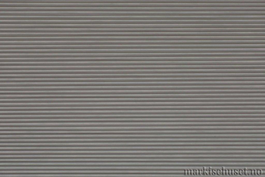 """Duette tekstil i serien Duotone 25mm. Farge: """"SignalGrey"""". Bildet er tatt med lys forfra."""