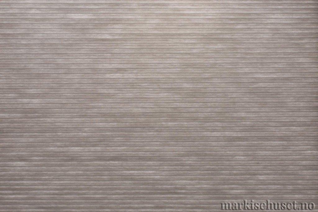 """Duette tekstil i serien Duotone 25mm. Farge: """"SignalGrey"""". Bildet er tatt med lys bakfra."""