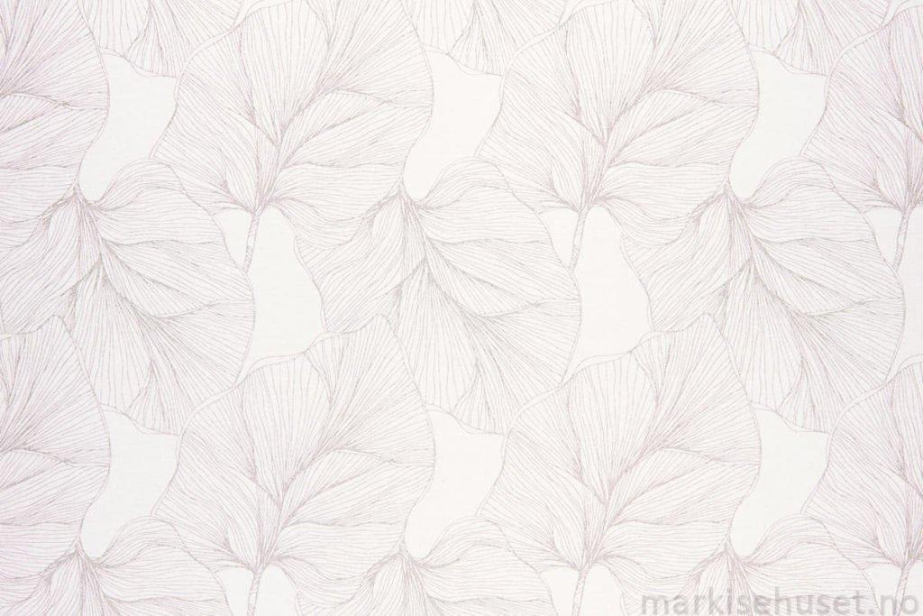 Rullegardin serien Watershell Transparent 243133-0204-6, bildet er tatt med lys bakfra.